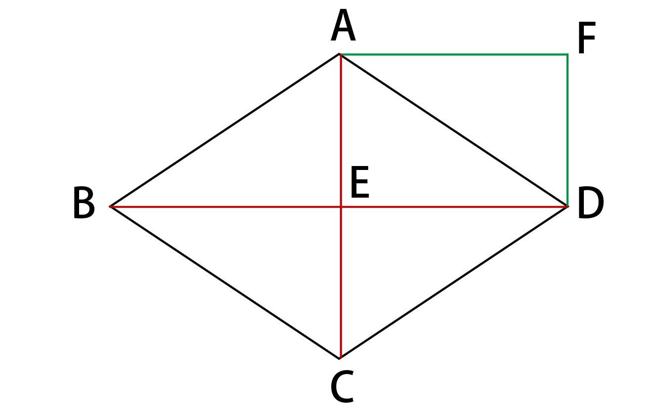 三角形AFD